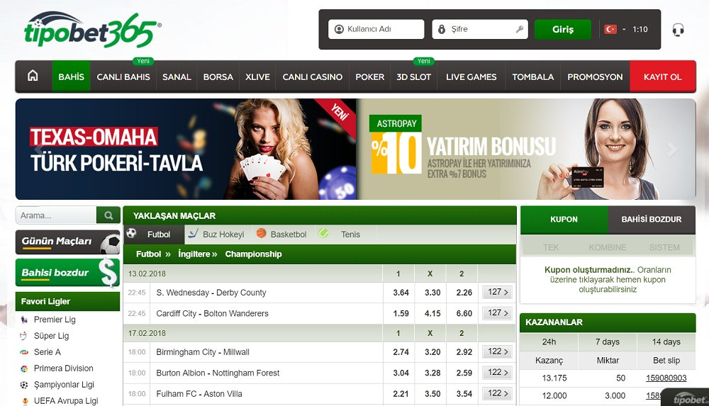 Find out how you can tipobet365 login (tipobet365 giriş) using their online systems